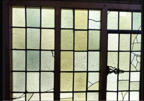 large birth-place window