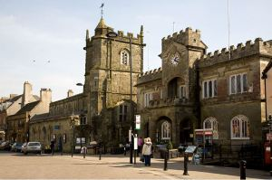 Shafetsbury's town hall